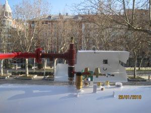 Valvulería de depósito GLP aéreo